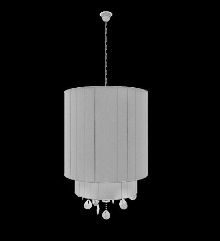 Hanging Pendant Lamp 3d rendering