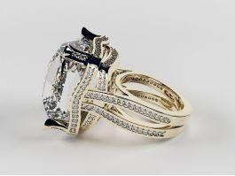 Pretty Diamond Ring 3d preview