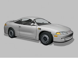 Mitsubishi Eclipse Coupe 3d preview