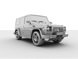 Mercedes-Benz G-Class 3d preview