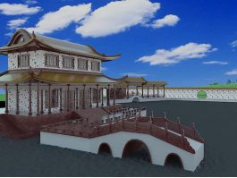 Chinese Garden Elements 3d preview