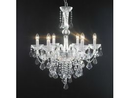 Crystal Chandeliers Lighting 3d preview