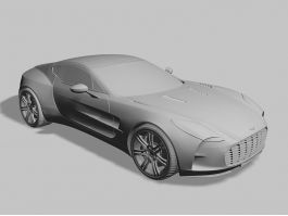 Aston Martin One-77 3d preview