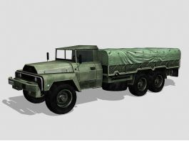 Acmat VLRA Military Truck 3d preview