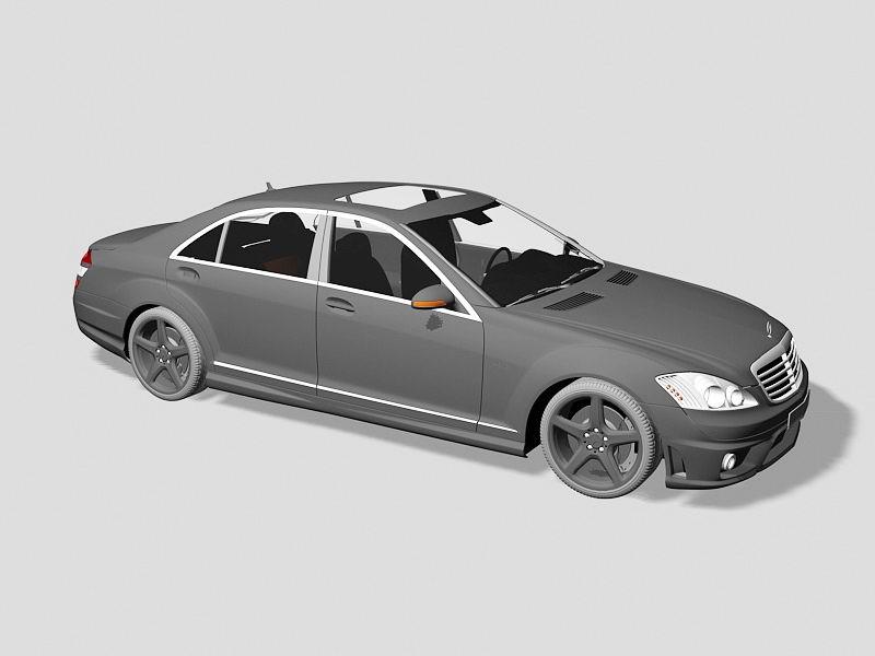 Mercedes-Benz S 65 AMG 3d rendering