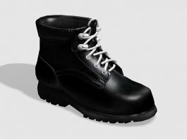 Black Ankle Boots 3d preview