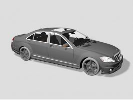 Mercedes-Benz S 65 AMG 3d preview