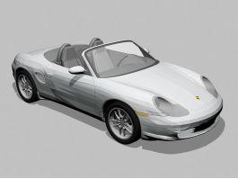 Porsche Boxster Spyder 3d preview