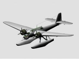 Heinkel He 115 Bomber Seaplane 3d preview