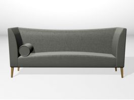 Loveseat Couch 3d model preview