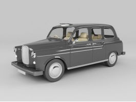 Classic Sedan Car 3d preview