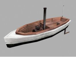 Launch Boat 3d preview