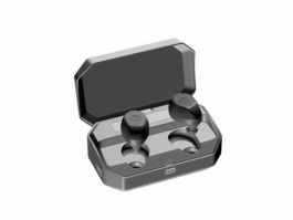 Bluetooth Earbuds 3d preview