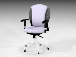 Unique Office Chair 3d model preview