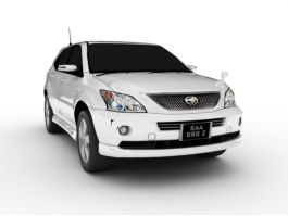 Toyota Harrier Hybrid 3d preview