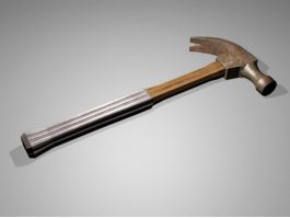 Vintage Hammer 3d model preview