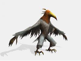 Crow Assassin 3d preview