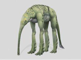Seaphant Creature 3d model preview
