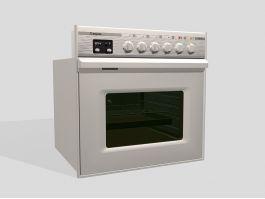 Built-in Oven Fixture 3d model preview