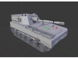 PLZ-07 Self-Propelled Howitzer 3d preview