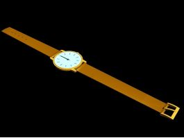 Ladies Watch 3d preview