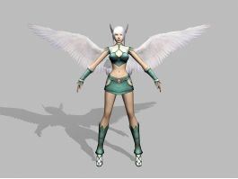 Angel Warrior Character 3d preview