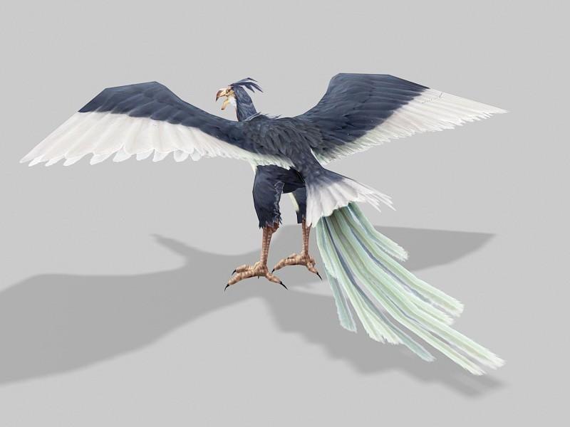 Giant Condor 3d rendering