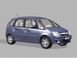 Opel Meriva Mini MPV 3d preview