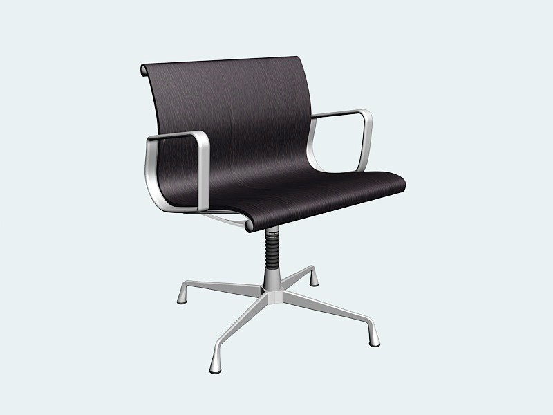 Home Office Swivel Chair 3d rendering