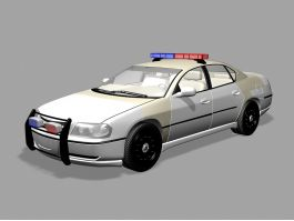 Chevrolet Impala Police Car 3d preview