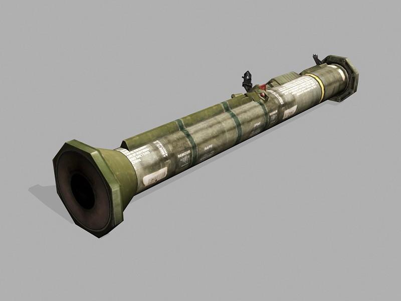 AT-4 Rocket Launcher 3d rendering