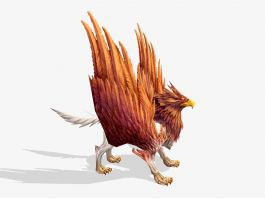 Griffon Mythical Creature 3d preview
