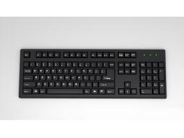 Desktop Computer Keyboard 3d preview