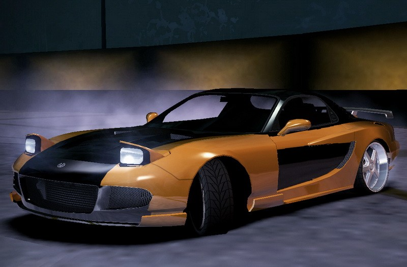 Mazda RX-7 FD 3d rendering