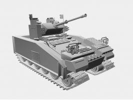 Ultra Heavy Tank 3d model preview