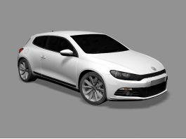 Volkswagen Scirocco Car 3d preview