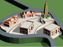 Ancient Persian Temple 3d preview