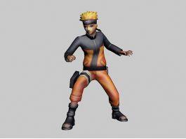 Naruto Uzumaki 3d preview