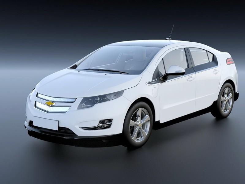 2010 Chevrolet Volt 3d rendering