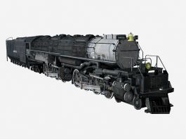 Old Train 3d preview
