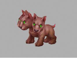 Cerberus Puppy 3d preview