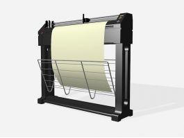 Plotter Printer 3d preview