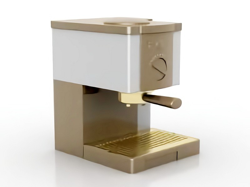Electric Coffeemaker 3d rendering