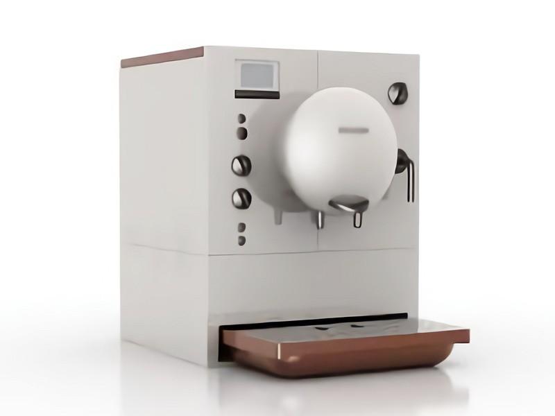 Office Coffee Machine 3d rendering
