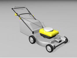 Push Lawn Mower 3d preview