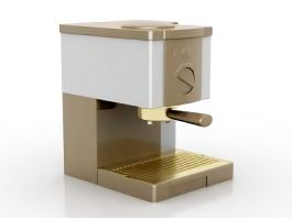 Electric Coffeemaker 3d preview