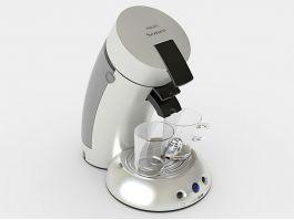 Philips Senseo Coffee Machine 3d preview