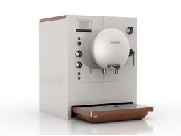 Office Coffee Machine 3d model preview