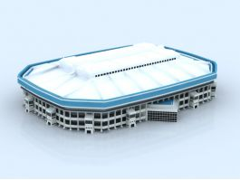 Covered Stadium 3d preview
