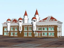 Victorian House Exterior 3d preview